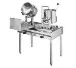 Groen T5CWTDC320TDA140 Direct Steam Table Mounted Tilting Kettles, (1) 20 Qt, (1) 40 Qt
