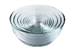Duralex 200009 9 Piece Lys Bowl Set, Clear
