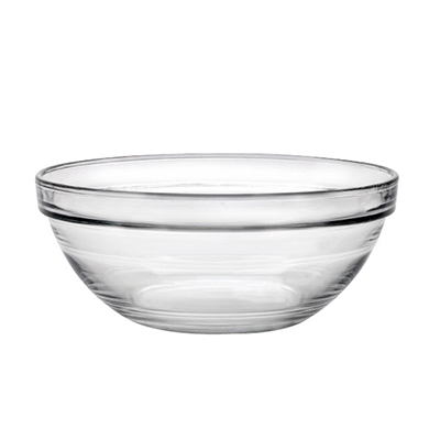 Duralex 2020AC04/4 1-oz Stackable Bowl w/ Impact & Chip Resistant, 4-Set, 2.38-in, Glass