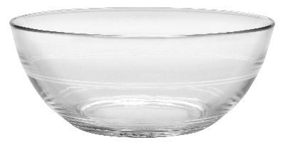 Duralex 510890M93 7-7/8 in Lys Mixing Bowl, Clear