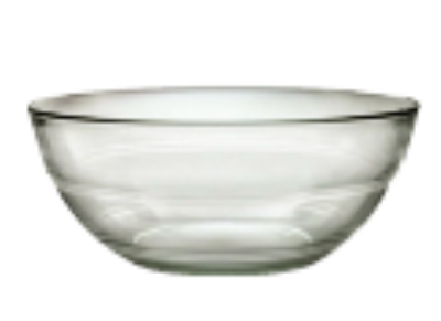 Duralex 511650C67 2-3/8 in Lys Mixing Bowl, Clear