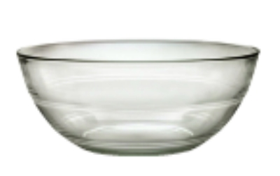 Duralex 511670M98 3-1/2 in Lys Mixing Bowl, Clear