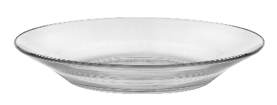 Duralex 513850M95 9 in Lys Soup Plate, Clear