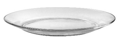 Duralex 3006AF06 9-1/4 in Lys Dinner Plate, Clear