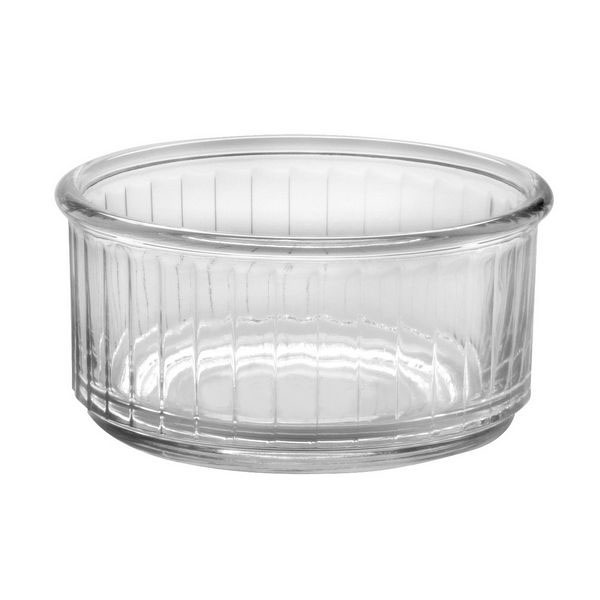 Duralex 514760C12 3-7/8 in Fluted Ramekin, Clear