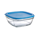 Duralex 519140AB1 7-7/8 in Lys Square Bowl With Lid