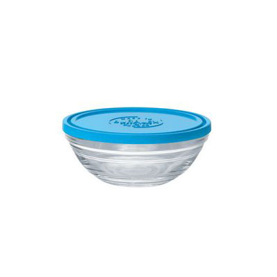 Duralex 9064AM12 10-oz Lys Round Storage Bowl w/ Lid, Glass