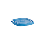 Duralex CLC09B1 Blue Lid For 3-1/2-in Square Bowl
