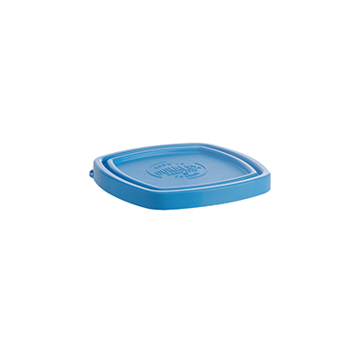 "Duralex CLC09B1 Blue Lid for 3-1/2"" Square Bowl"