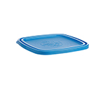 Duralex CLC17B1 Blue Lid For 6-3/4-in Square Bowl