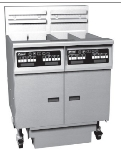 Pitco 5-SE14XSSTC-SFD 2403 Fryer w/ Filter, (5) 50-lb Full Tanks, Solid State, Drain,  240/3V