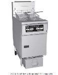 Pitco 1-SF-SG14RSSTC-S NG 50-lb Fryer & SoloFilter w/ Solid State Controls, NG