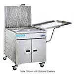 Pitco 24FF Gas Fryer - (1) 150-lb Vat, Floor Model, LP