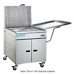 Pitco 24FF Gas Fryer - (1) 150-lb Vat, Floor Model, NG