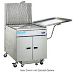 Pitco 24RUFM Gas Fryer - (1) 117-lb Vat, Floor Model, NG