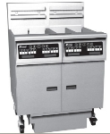 Pitco 2-SE18RSSTC-SFD 2203 Fryer w/ Filter, (2) 70-90 lb Full Tank, Solid State, Export