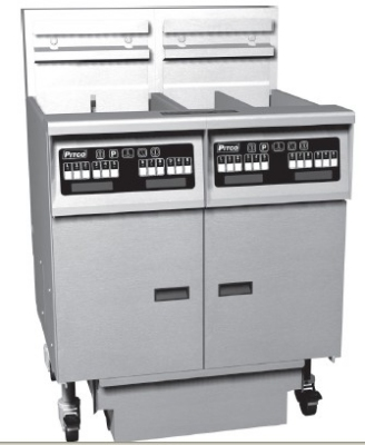 Pitco 2-SE14RSSTC-S/FD Electric Fryer - (2) 50-lb Vat, Floor Model, 240v/1ph