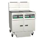 Pitco 2-SG14SSTC-S/FD NG (2) 50 lb Solstice Fryers & FilterDrawer, 220,000 BTU, Solid State, NG