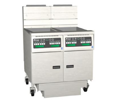 Pitco 2-SG18C-S/FD Gas Fryer - (2) 90-lb Vat, Floor Model, LP