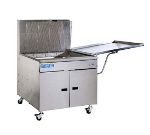 "Pitco 34PM 42"" Gas Donut Fryer, LP"