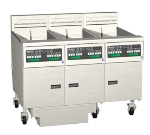 Pitco 3-SE14C-S/FD-2083 (3) 50 lb Solstice Fryers & FilterDrawer, Computer, 17 Kw Each, 208/3