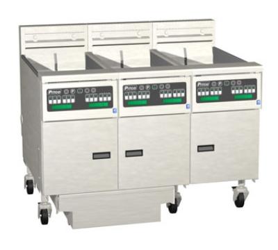 Pitco 3-SE18C-S/FD-4803 (3) 70-90 lb Solstice Fryers & FilterDrawer Restaurant Supply