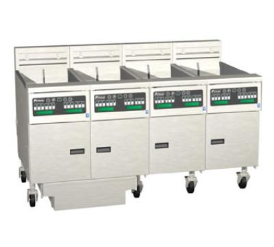 Pitco 4-SE14C-S/FD-2083 (4) 50 lb Solstice Fryers & FilterDrawer Restaurant Supply