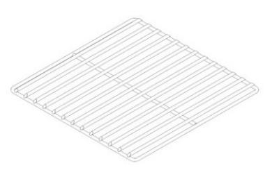 """Pitco B7425401 Fish Grid 17.5"""" X 17.5"""""""