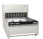 "Pitco PCC-14 14"" Crisp 'N Hold™ Countertop Fry Warmer Dump Station - Underburner, 120v"