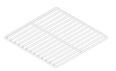 "Pitco PP10434 Tube Rack, 13.5"" X 11.5 in for Model 35C+"