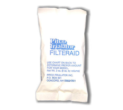 Pitco PP10733 (120) 8-oz Pack Fryer Powder