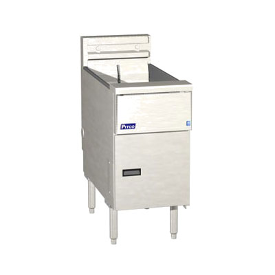 Pitco SE14 Electric Fryer - (1) 50-lb Vat, Floor Model, 208v/3ph