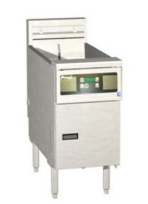 Pitco SE148R-D-2203 60 lb Solstice Fryer 14 in x 18 in Cooking Area Digital 22 Kw 220/3 Restaurant Supply