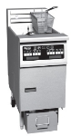 Pitco SE14R-MC-S 2403 40-50 lb Heavy Duty Floor Model Fryer, Multi-Zone, Drain, 240/3 V