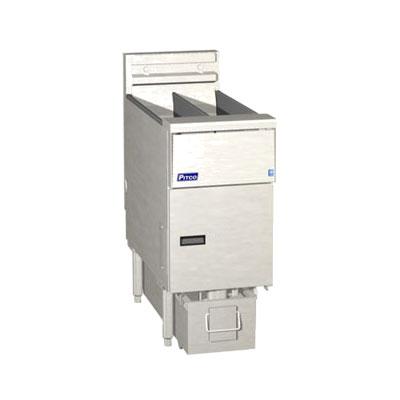 Pitco SE14X-1FD Electric Fryer - (1) 50-lb Vat, Floor Model, 208v/3ph