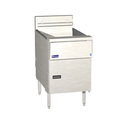 Pitco SE18 Electric Fryer - (1) 50-lb Vat, Floor Model, 208v/1ph