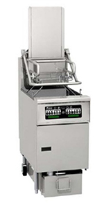 Pitco SFSG6H-PC LP Gas Fryer - (1) 85-lb Vat, Floor Model, LP