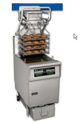 Pitco SFSG6H-SSTC NG 85 lb Solstice Rack Fryer & FilterDrawer EZ Lift Rack Solid State NG Restaurant Supply