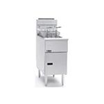 Pitco SG14RSDLP Gas Fryer - (1) 50-lb Vat, Floor Model,