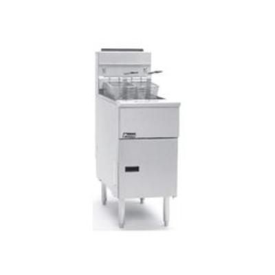 Pitco SG14RSDLP Gas Fryer - (1) 50-lb Vat, Floor Model, LP