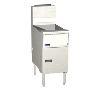 Pitco SG14-SS LP 40-50 Solstice Standard Fryer Computer 110,000 BTU (free standing) LP Restaurant Supply
