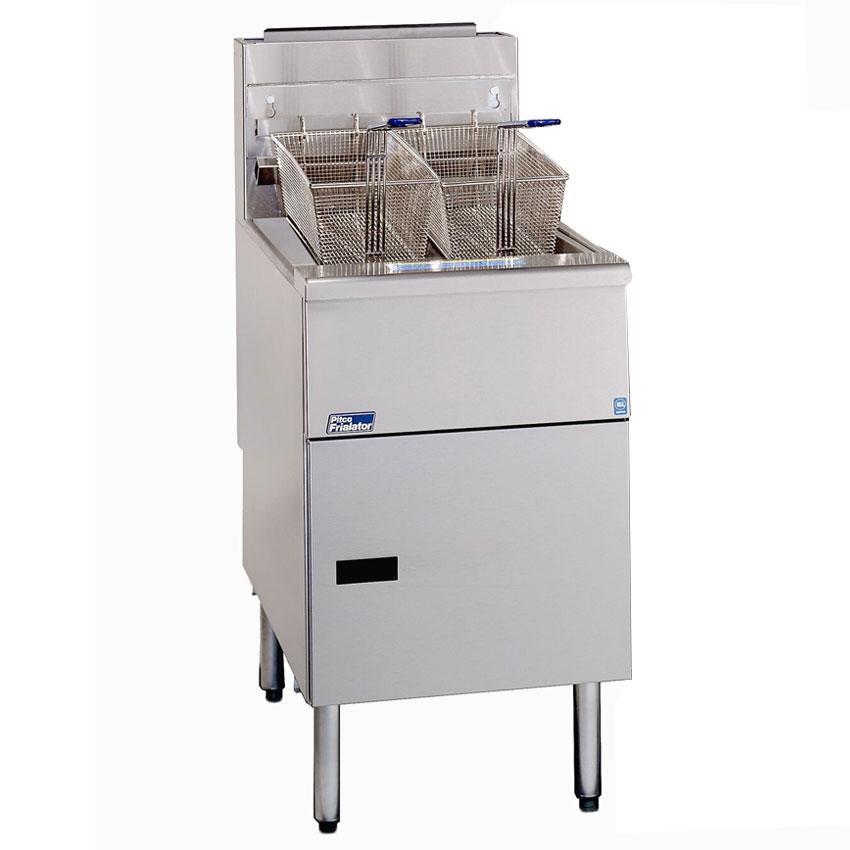 Pitco SG18S Gas Fryer - (1) 90-lb Vat, Floor Model, LP
