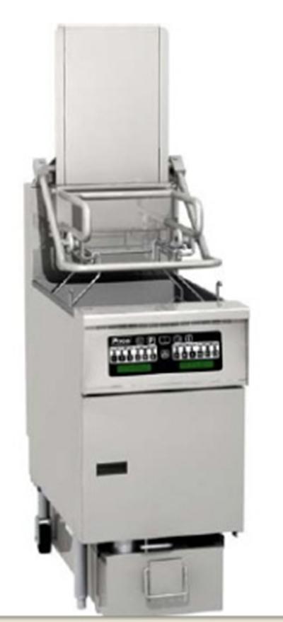 Pitco SG6H-PC NG Gas Fryer - (1) 85-lb Vat, Floor Model, NG