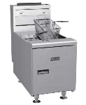 Pitco SGC-S NG Countertop Gas Fryer - (1) 35-lb Vat, NG
