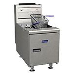 Pitco SGC-S Countertop Gas Fryer - (1) 35-lb Vat, LP