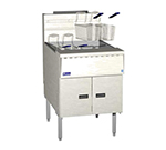 Pitco SGM24-SSTC Gas Fryer - (1) 150-lb Vat, Floor Model, NG