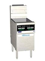 Pitco SSH55TSSTCSLP Gas Fryer - (2) 25-lb Vat, Floor Model, LP