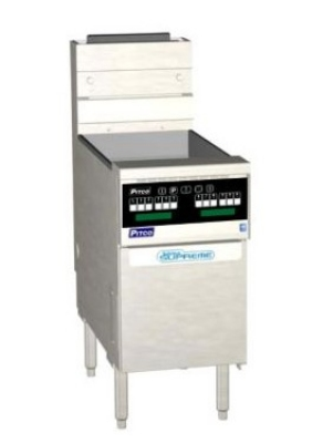 Pitco SSH60R-D NG 50-60 lb Solstice Supreme Fryer 14 in x 18 in Digital 100,000 BTU NG Restaurant Supply