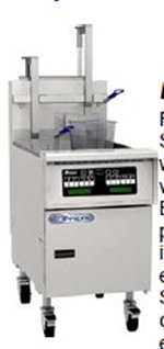 Pitco SSH75-MC-S LP Gas Fryer - (1) 75-lb Vat, Floor Model, LP