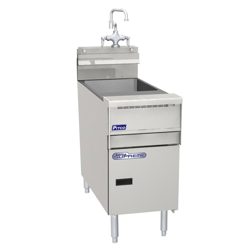 Pitco SSRE14 10-gal Rinse Station w/ Faucet